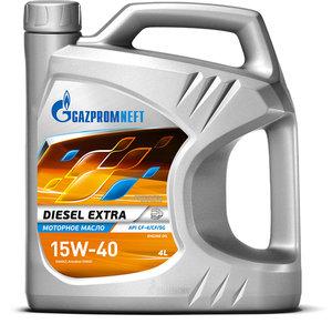 Масло дизельное DIESEL EXTRA CF-4/CF/SG мин.3.53кг/4л GAZPROMNEFT GAZPROMNEFT SAE15W40, 2389901353