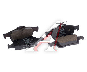 Колодки тормозные FORD Focus 2,3 задние (4шт.) MOTORCRAFT CV6Z2200A, GDB1938, 1683374/1809458/5134101