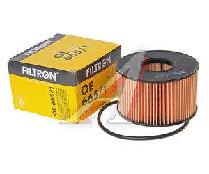 Фильтр масляный FORD Mondeo 3 (2.0/2.2 D/TDI),Transit FILTRON OE665/1, OX191D, 1349745