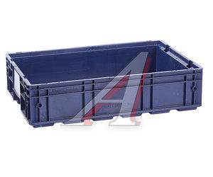 Ящик полимерный многооборотный 594х396х147мм синий IPLAST 12.504.61, R-KLT 6415