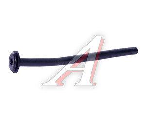 Трубка защитная электропроводки d=7.0мм резиновая прямая Трубка КР-1
