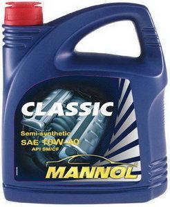 Масло моторное CLASSIC п/синт.1л MANNOL MANNOL SAE10W40, 1100