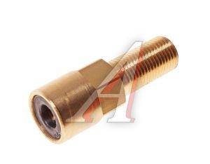 Соединитель трубки ПВХ,полиамид d=6мм (наружная резьба) М10х1 прямой латунь CAMOZZI 9590 6-M10X1-S01