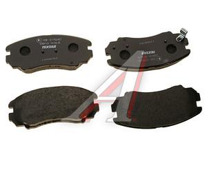 Колодки тормозные HYUNDAI KIA Sonata,Sportage (01-) передние (4шт.) TEXTAR 2389101, GDB3352, 58101-38A81/58101-2EA30
