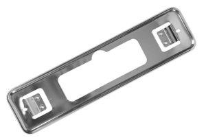 Панель ГАЗ-3110 знака номерного переднего хром (ОАО ГАЗ) 3102-2803208