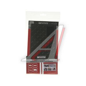 Коврик на панель приборов противоскользящий квадрат черный WIIIX SP-03BK