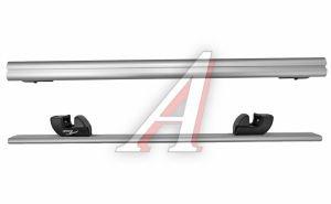 Багажник поперечины для рейлингов L=1200мм аэродинамический алюминий комплект LUX 690373