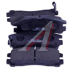Колодки тормозные MITSUBISHI Galant (92-04),Pajero Pinin (99-) задние (4шт.) SANGSIN SP1046R, GDB1023, MR389578/MZ690341/MR129433/MZ690166