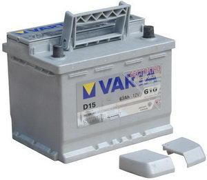 Аккумулятор VARTA Silver Dynamic 63А/ч обратная полярность 6СТ63 D15, 563 400 061 316 2
