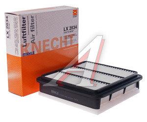 Фильтр воздушный MITSUBISHI L200 (05-) (2.5 DI/D) MAHLE LX2834, 1500A098