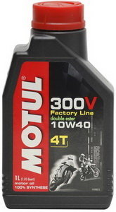 Масло моторное для 4-х тактных двигателей 300V 4T FACTOTY LINE синт.4л MOTUL MOTUL SAE10W40 104121, 104121