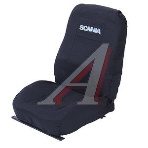 Авточехлы SCANIA 4 series жаккард черные комплект SCANIA 4-серия Черные спл.