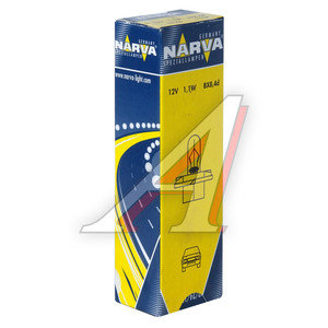 Лампа 12V 1.1W Bax8.4d оранжевый патрон NARVA 17047, N-17046
