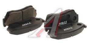 Колодки тормозные NISSAN Sunny (90-95) передние (4шт.) TRW GDB1170, D1060-50Y93
