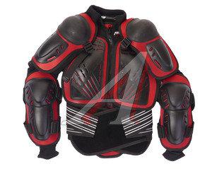 Куртка для мото защитная (черепаха) черно-красная L MICHIRU L MICHIRU, 4620770796741,