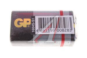 Батарейка KRONA 6F22 9V Saline Supercell (термопленка) блистер (1шт.) GP GP-1604S