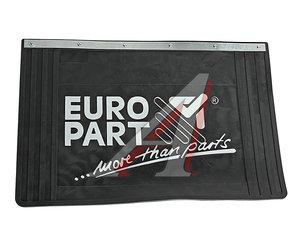 """Брызговик резиновый задний (600х400мм с логотипом """"EUROPART"""" с болтами) (1шт.) EUROPART 9080060401"""