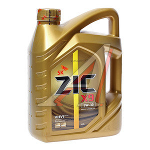 Масло моторное X9 (XQ) синт.4л ZIC ZIC SAE5W30, 162614