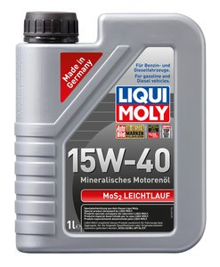Масло моторное SUPER MOTOR OIL MoS2 мин.1л LIQUI MOLY LM SAE15W40 1932, 84144