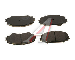 Колодки тормозные TOYOTA Auris (06-12) (Япония),Corolla (07-13) передние (4шт.) NIPPARTS J3602120, GDB3425, 04465-12610