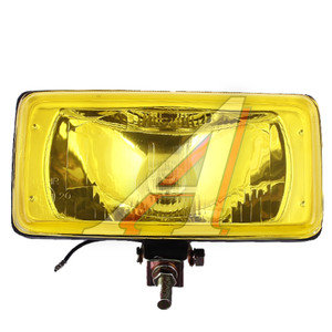 Фара дополнительная NS-1181 Yellow-дальний,195x95мм (1шт.с крышкой) 12V SIRIUS NS-1181Y(D)
