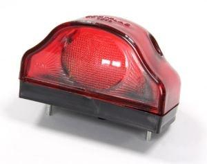 Фонарь освещения знака номерного пластик красный 24V АВТОТОРГ 119993 к