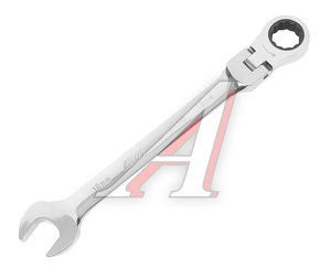 Ключ комбинированный 18х18мм трещоточный шарнирный JTC JTC-3458,