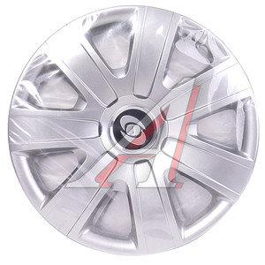 Колпак колеса R-15 декоративный серый комплект 4шт. 325 325 R-15