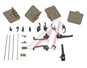 Замок двери УАЗ-3151-ЛЮКС с тягами и ручками комплект 4шт. 3151-610*