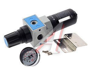"""Регулятор давления с манометром и фильтром 1/2"""" (0-10атм.) профи EW4000-04/UFR-04, PN-EW4000-04"""