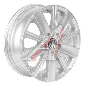 Диск колесный литой VW Polo Sedan R14 VW11 S REPLICA 5х100 ЕТ35 D-57,1,