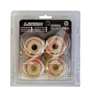 Колесо для скейтборда LARSEN (52х30мм 100A) комплект (4шт.) D (52x30 100A), 245660