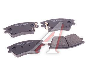 Колодки тормозные HYUNDAI Elantra XD (1.6) (00-) передние (4шт.) HSB HP0020, GDB895, 58115-2D000