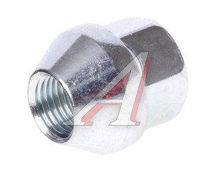 Гайка колеса М12х1.25х25 конус открытая ключ 19мм BIMECC D23(МВ015)