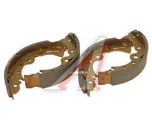 Колодки тормозные NISSAN Almera Classic (B10RS) задние (4шт.) FENOX BP53051, GS8246, DD06M-04A25