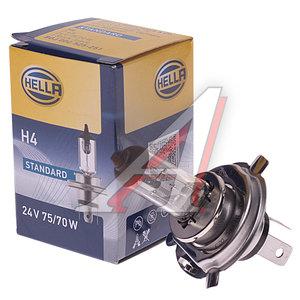 Лампа H4 24Vх75/70W (P43t-38) HELLA 8GJ002525251, O-64196, 8GJ002525281