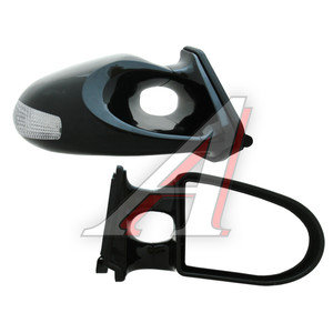 Зеркало боковое Black ВАЗ-2105-2107 (6 светодиодов) комплект FK SPORTS SM-636BLB,