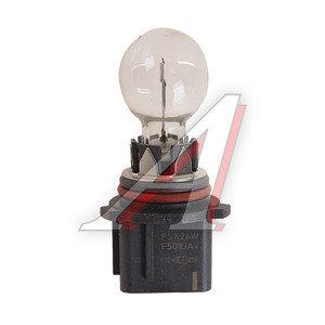 Лампа 12V PSX26W двухконтактная PHILIPS 12278C1, P-12278