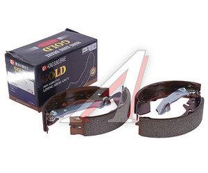 Колодки тормозные HYUNDAI Accent (ТАГАЗ) задние барабанные (4шт.) HSB HS0001, GS8684, 58305-25A00