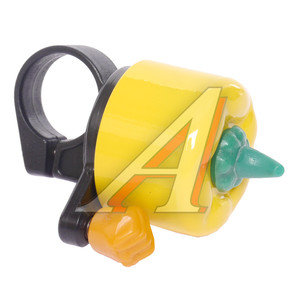 Звонок велосипедный JH-809-Y ПЕРЕЦ желтый *LU000854*, 210020