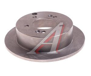 Диск тормозной HYUNDAI Tucson (04-) (2WD),Sonata NF KIA Sportage (06-) (2WD) задний (1шт.) VALEO PHC R1044, 58411-39600