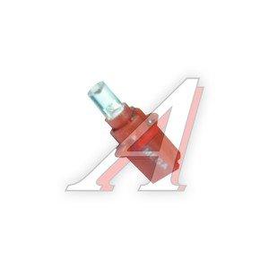 Лампа 24VхT4W (W2х4.6d) CONE 1 свет-д с патроном B8.5d RED MEGAPOWER M-30430R-24V