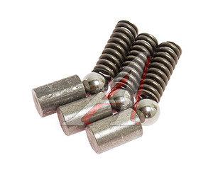 Ремкомплект ГАЗ-33104 КПП синхронизатора 2-3 пер.(ролик-3шт.,фиксатор-3шт.,пружина-3шт.) РЕМОФФ 33104-1701182/70/99, Р33104-1701171Р, 33104-1701182