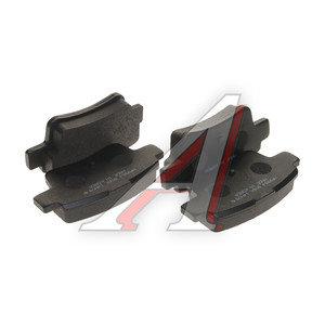 Колодки тормозные FIAT Linea OPEL Corsa D задние (4шт.) HSB HP9964, GDB1714, 93189823