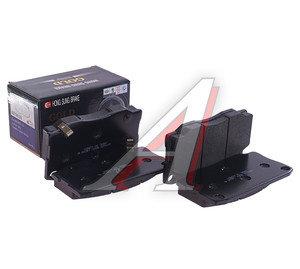 Колодки тормозные HYUNDAI HD65,72,County дисковые передние (4шт.) HSB HP0028, 58101-5HA30