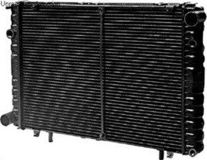 Радиатор ГАЗ-2217,33021 медный 2-х рядный Н/О (пластиковый бачок, датчик) ЛРЗ 330242-1301010, 112.1301010-10