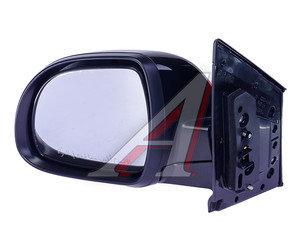 Зеркало боковое SSANGYONG Actyon (10-) левое (черное) (без автоскладывания,обогрев) OE 7893034030LAK