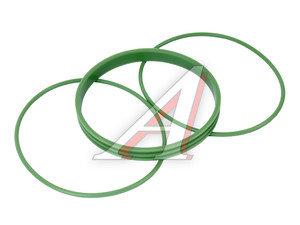 Кольцо ЯМЗ гильзы уплотнительное комплект силикон (3 поз./3 дет.) СТРОЙМАШ 236-1002023/24/40, 236-1002023