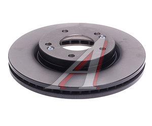 Диск тормозной HYUNDAI Santa Fe (01-) передний (1шт.) TRW DF4291, 51712-3B000