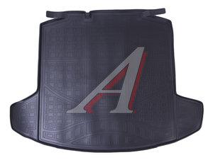 Коврик багажника SKODA Rapid хетчбек (13-) (без органайзера) полиуретан NOR NPA00-T81-650